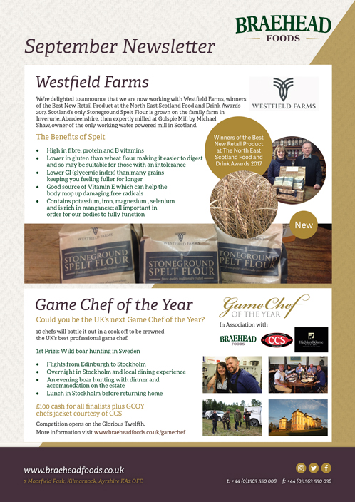 Braehead -Foods -Sept 17-Newsletter -1