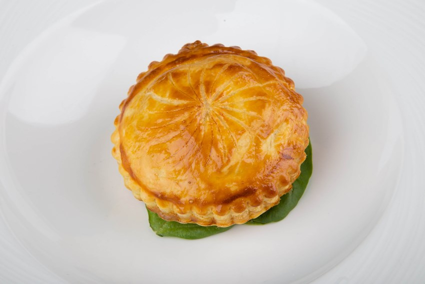 Hot Smoked Salmon Pithivier