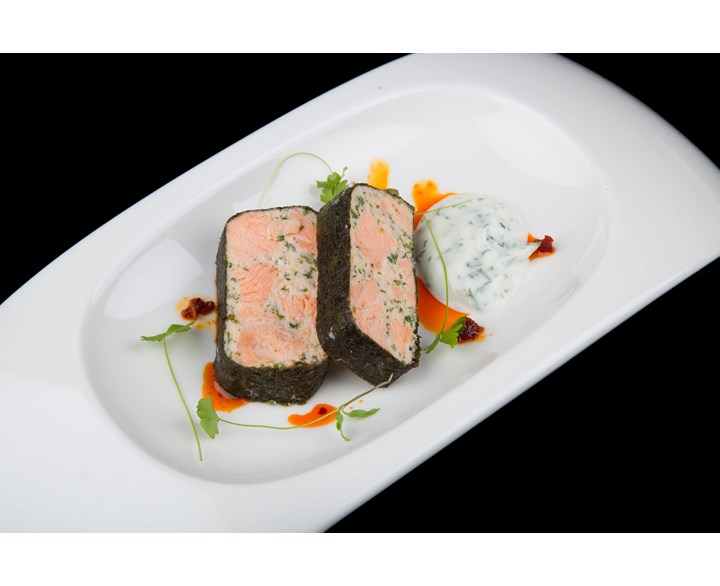 Terrines and Parfaits - Marbled salmon terrine.jpg