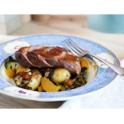 Poultry & Duck - Honey, orange and thyme glazed duck breast.jpg