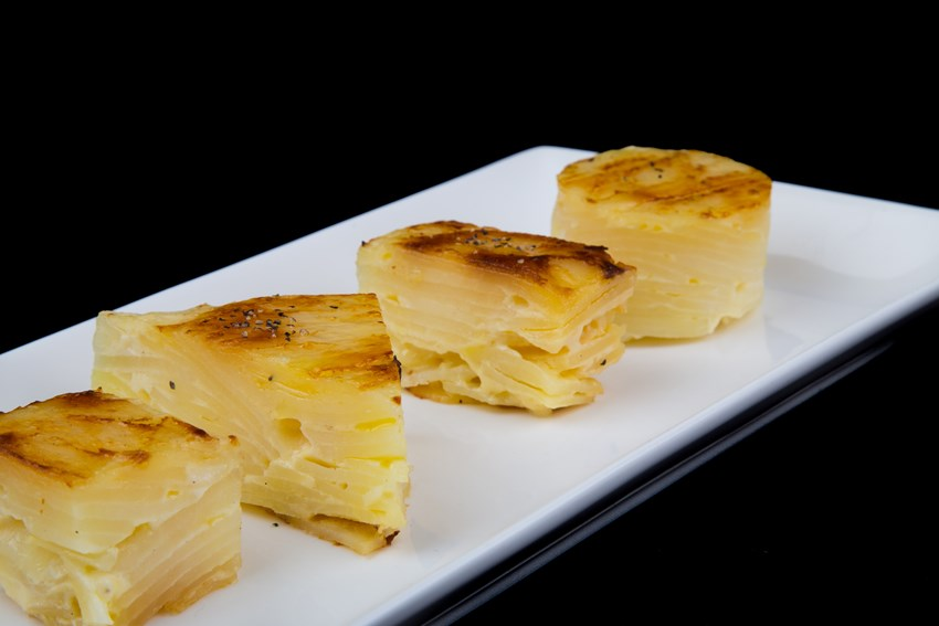 Dauphinoise Potatoes - Production Kitchen at Braehead Foods